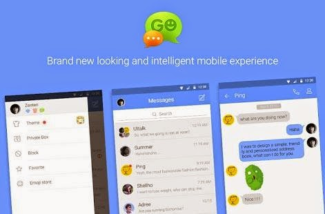 Application sms Go SMS Pro