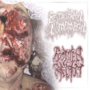 Bestially Raped Till Dismembered / Rotten Rectum Split