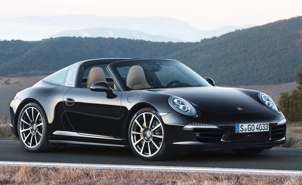 2014 Porsche 911 Targa black