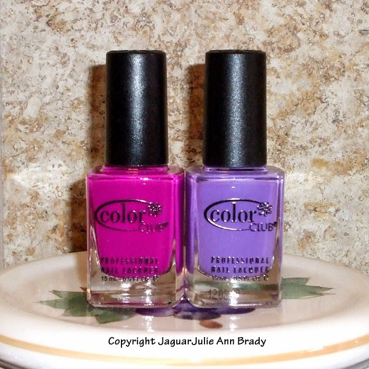 Mrs Robinson and Pucci-licious Color Club Poptastic Nail Polishes