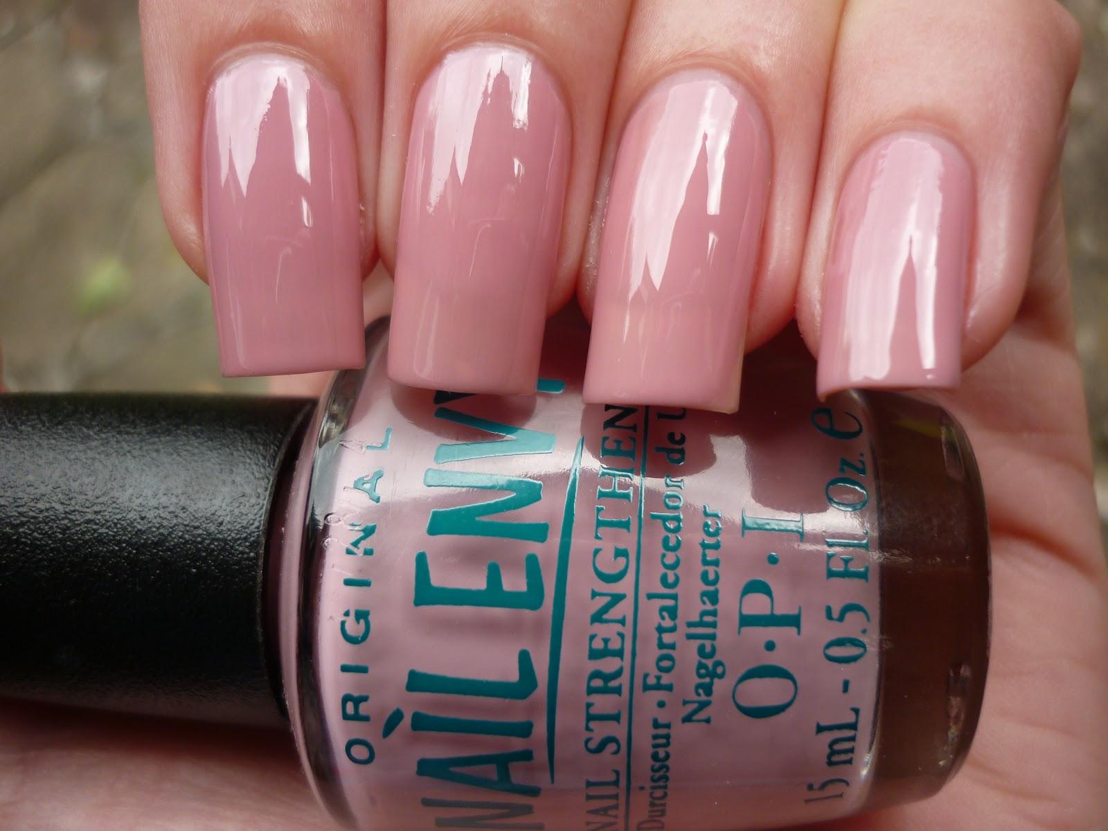 Nails by Vanessa marie: OPI Pink Nail Envy