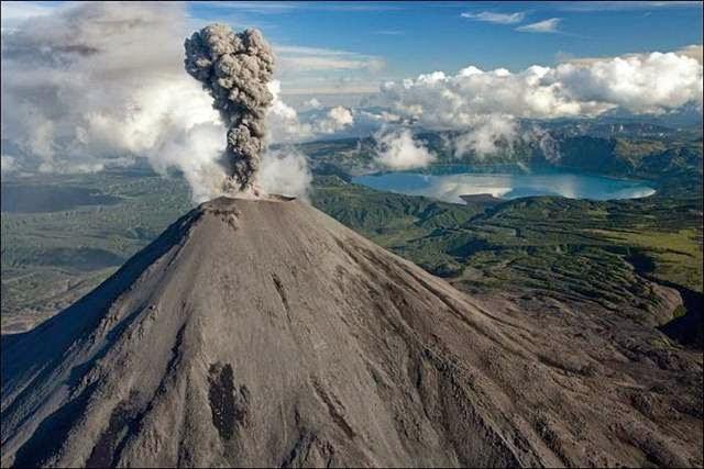 Volcano, Kamchatka