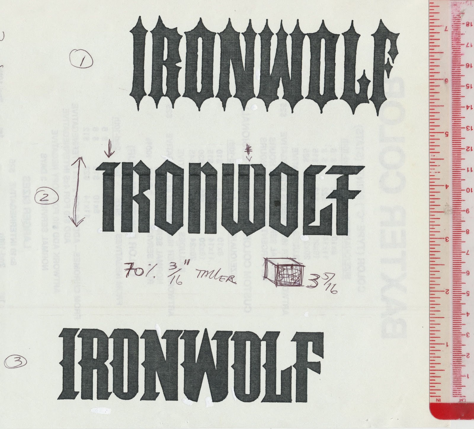 Tenth Letter of the Alphabet: Anatomy of a Logo: Ironwolf