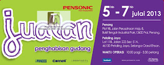 PENSONIC Warehouse Sale 2013