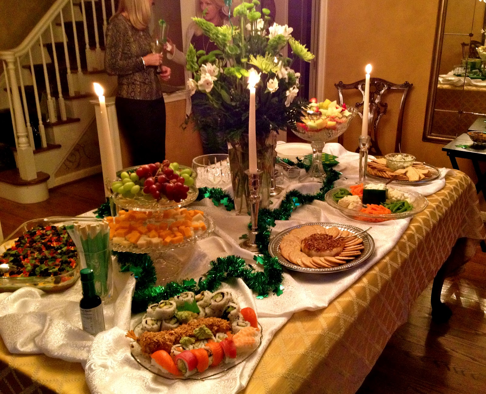 Party Food Table Scapes