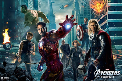 Locandina del film the Avengers