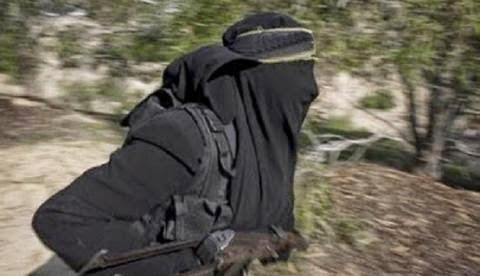 female suicide bomber killed