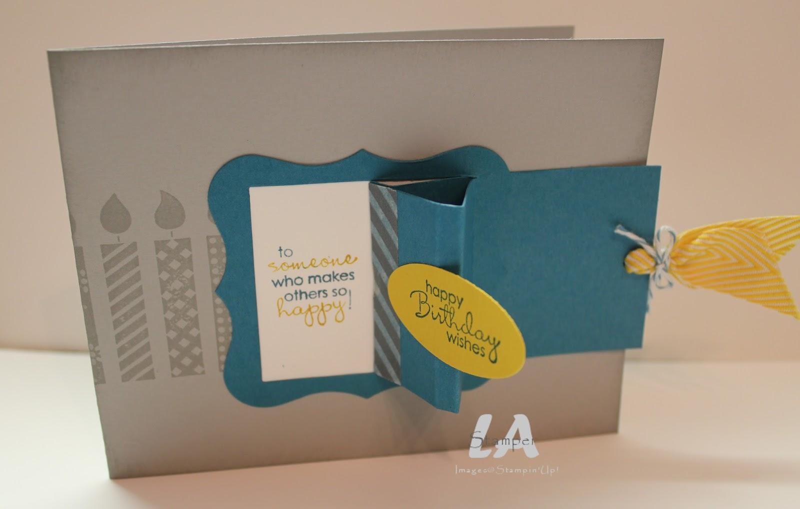 LA Stamper PeekABoo Birthday – Interactive Birthday Cards