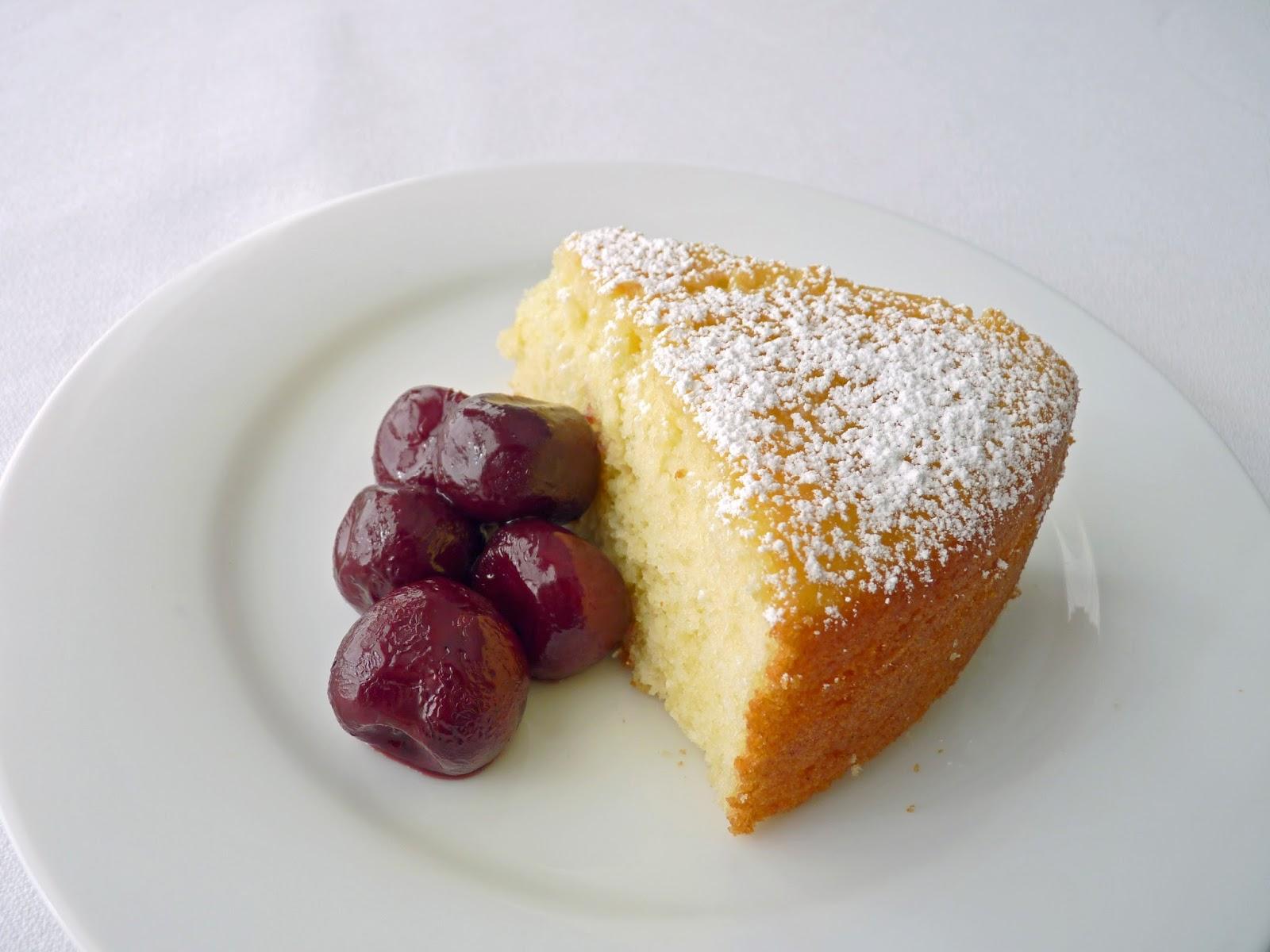 pastry studio: Lemon Yogurt Cake with Cherries