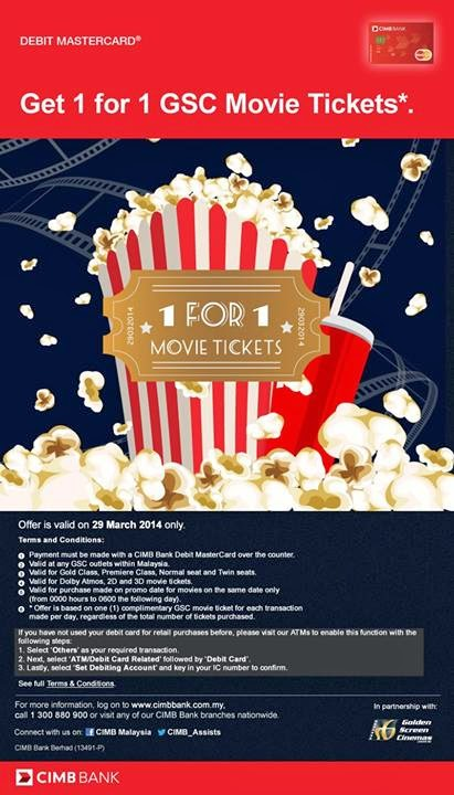Order malaysia movie tickets