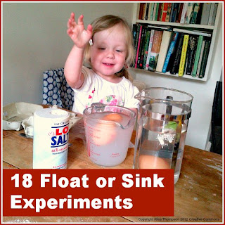 Float or sink experiments