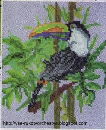 Схема плетения из бисера котика