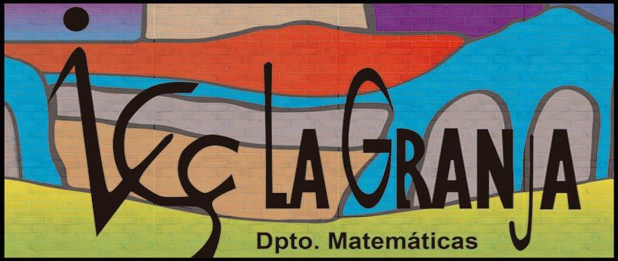 IES La Granja. Matemáticas
