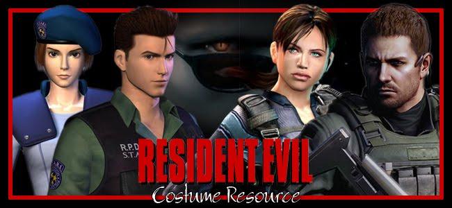 Resident Evil Costume Resource