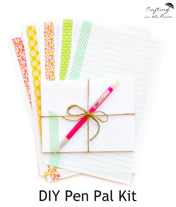 #BICFightForYourWrite How to encourage kids to write with a pen pal kit