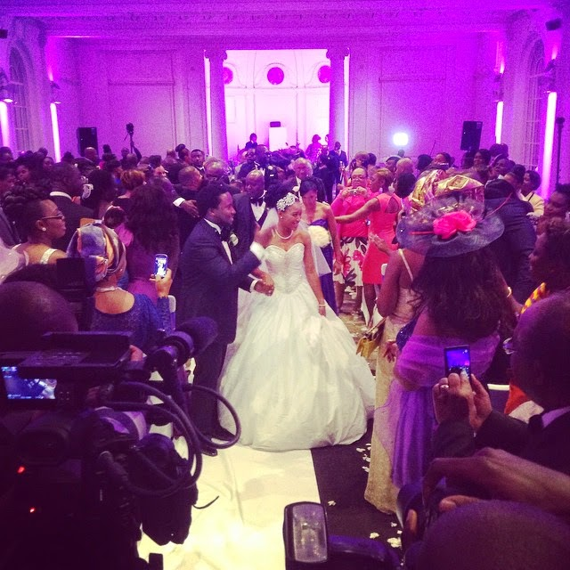 images pictures wedding Annie Marie & Sonnie Badu