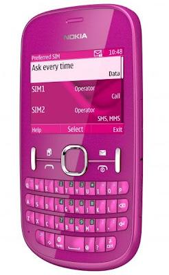 top Nokia Asha 200 Touchscreen Phone
