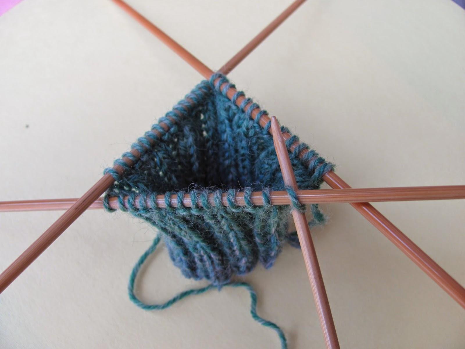apprendre a tricoter en rond