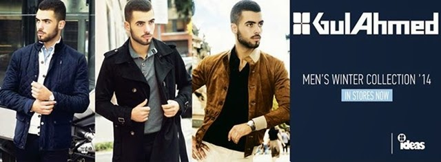 GulAhmed Winter Collection 2014 for Boys