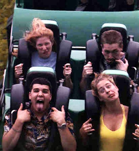 Sebab Ni La Aku Taknak Naik Rollercoaster !!