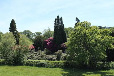 Gardens, Belsay Hall Northumberland