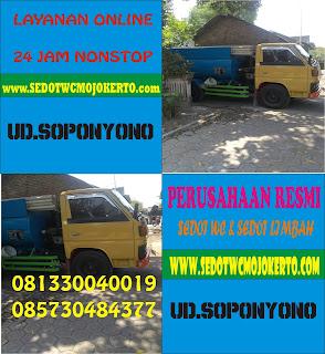 Sedot WC Terusan Gedeg Mojokerto 085730484377