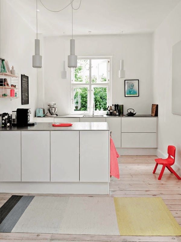 white scanidnaivan kitchen