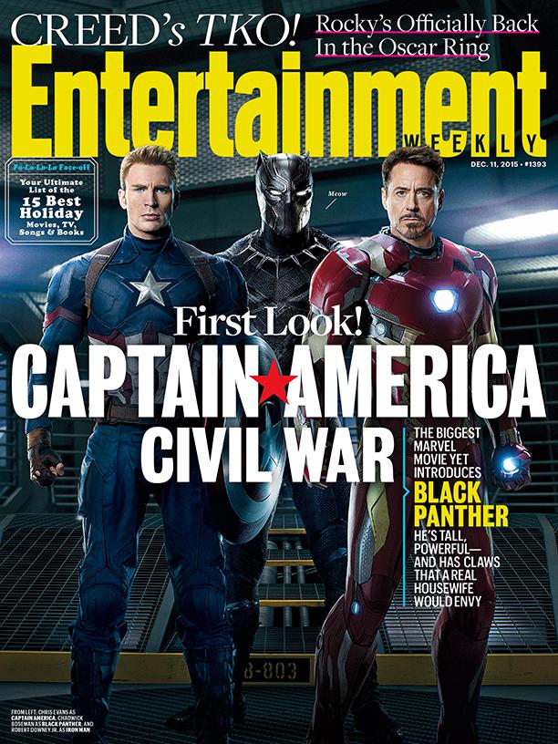 Гражданская война на обложке EW