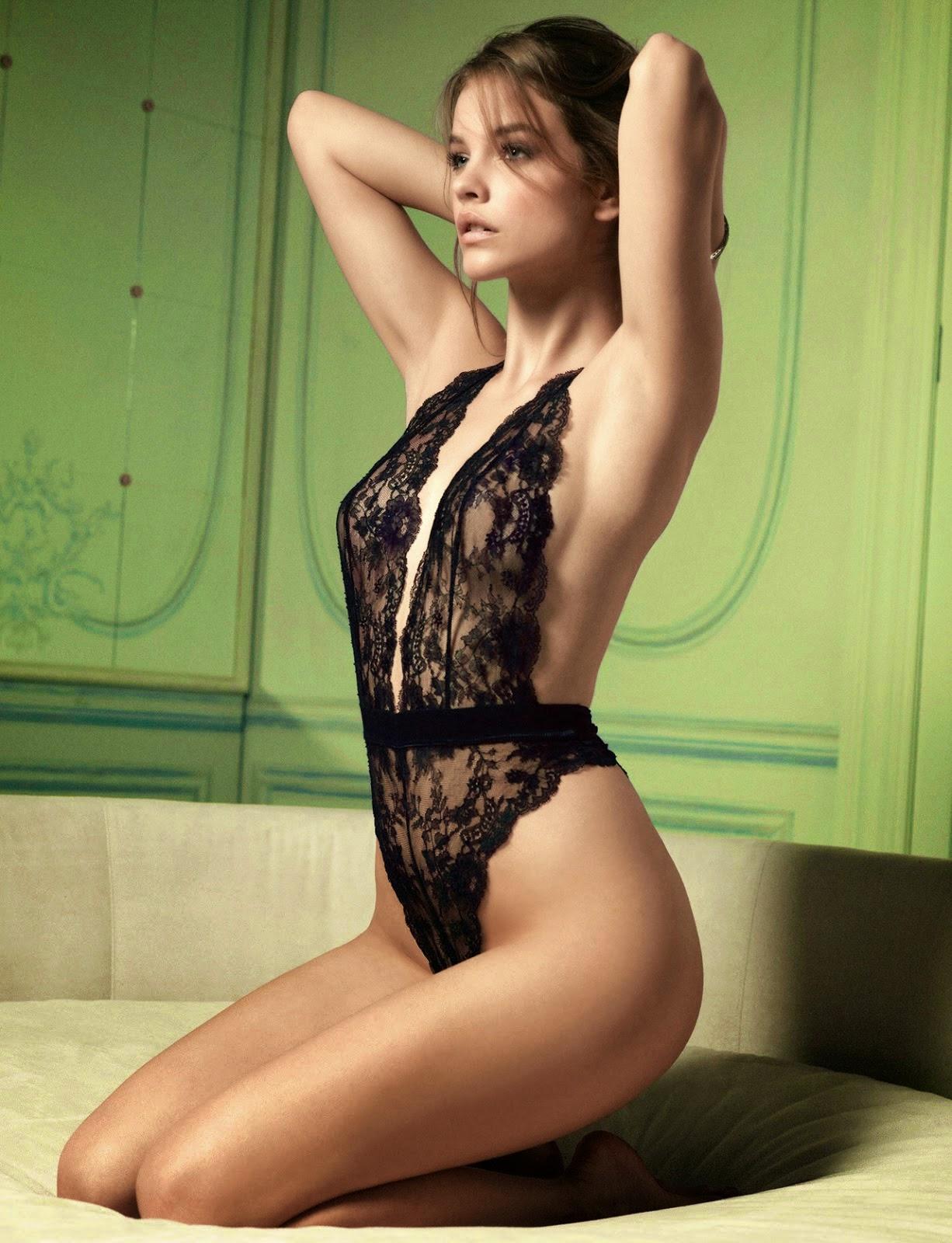 Barbara Palvin once again for the spring-summer 2014 Beachwear campaign. Barbara Palvin twin set bikini 2014.