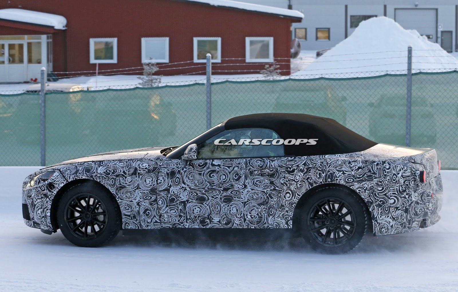 Bmw Z4 Replacement Spied Likely Based On Platform Shared