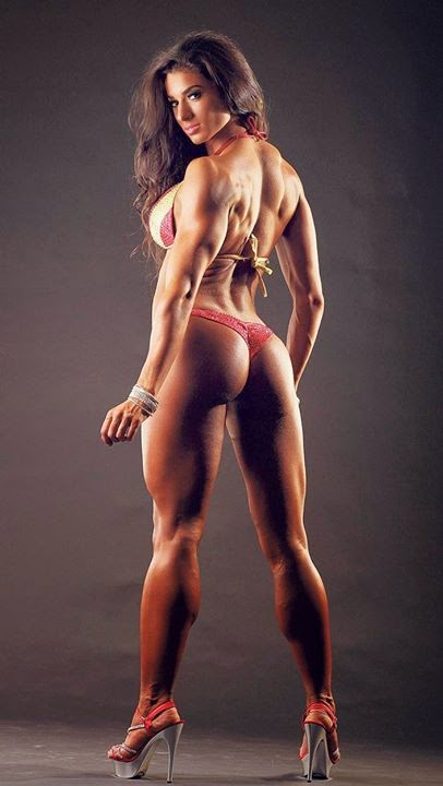 Very Muscular Ass Woman 100