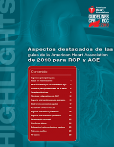 Guia RCP 2010 de la American Heart Association