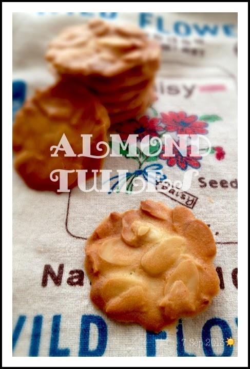 杏仁瓦片 Almond Tuiles