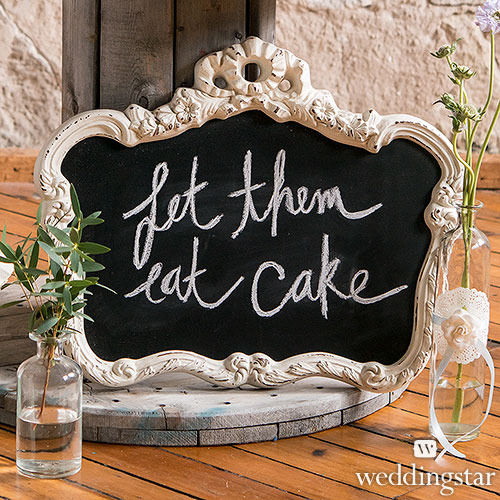 http://www.weddingfavoursaustralia.com.au/products/blackboard-in-ornate-vintage-frame-in-antique-white-wedding-sign