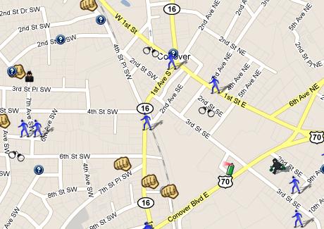 Conover++NC+Crime+Map+-+Showing+Crimes+in+Conover+-+Crime+Statistics+ ...