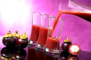 mangosteen peel juice