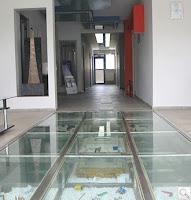 pavimentos de cristal