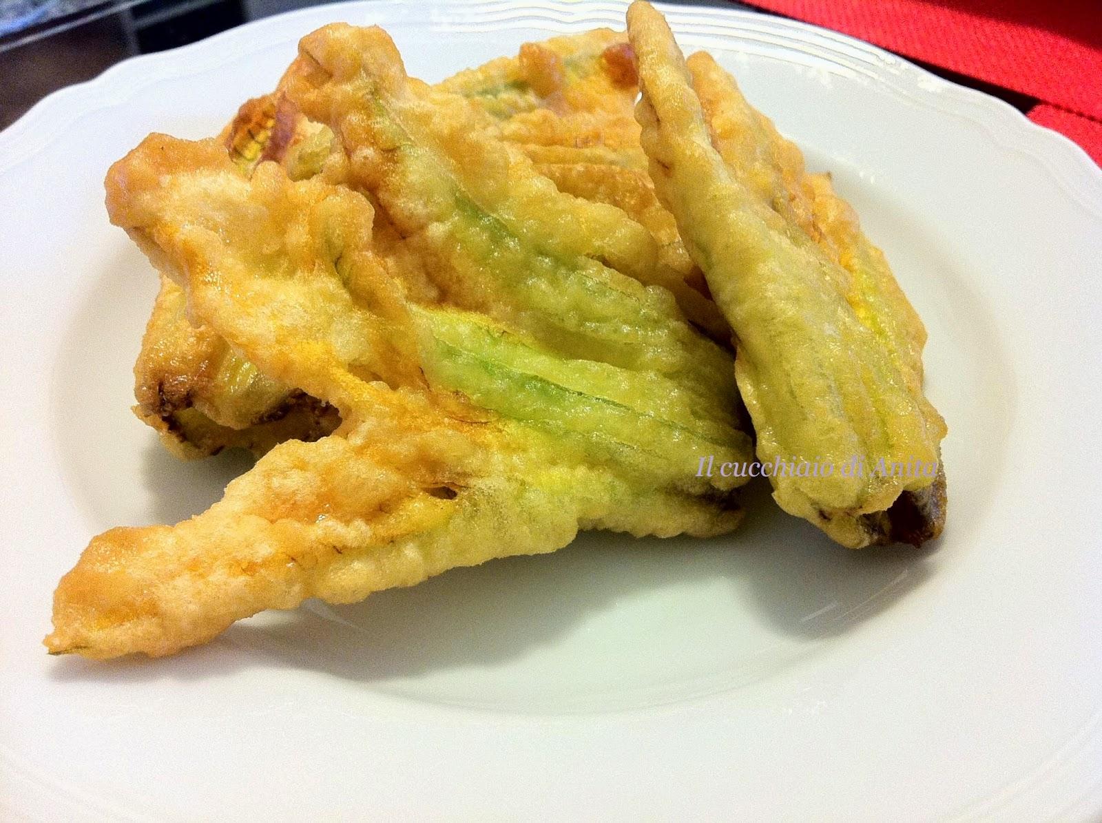 fiori di zucca fritti al sale di cervia