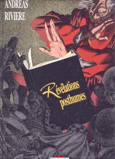 revelations posthumes couverture BD de Andréas et Rivière