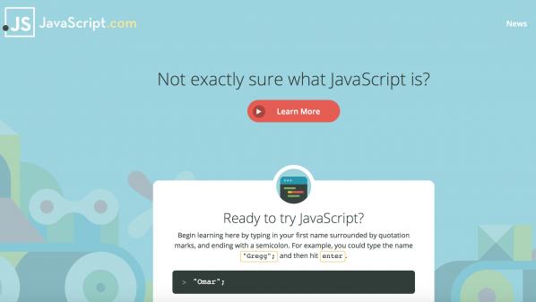أفضل موقع لتعلّم لغة جافا سكربت بأسلوب جد مميز