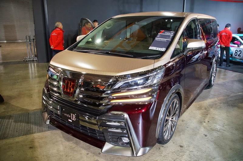 Modifikasi Mobil Toyota Alphard Vellfire 2015