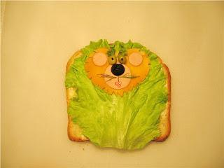 Бутерброд - львенок