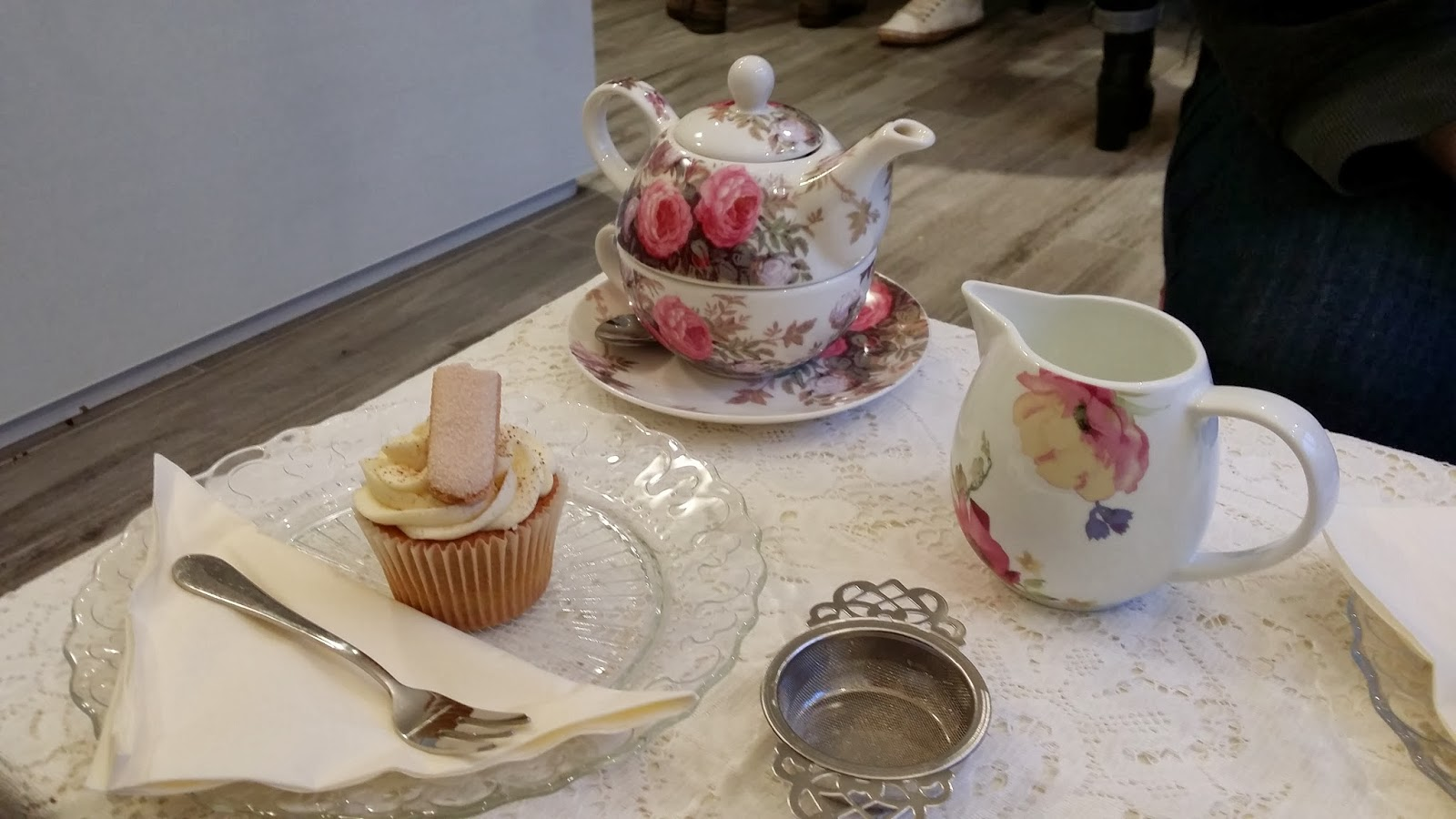 Announcing Tea Room Opening