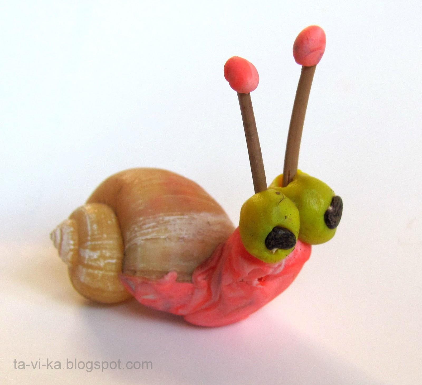 Муха поделка из пластилина