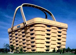 Weird Buildings - basket building