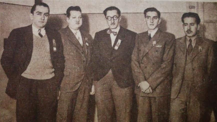 Equipo uruguayo de ajedrez en 1939