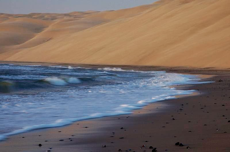 The dune sea of the Namib Desert