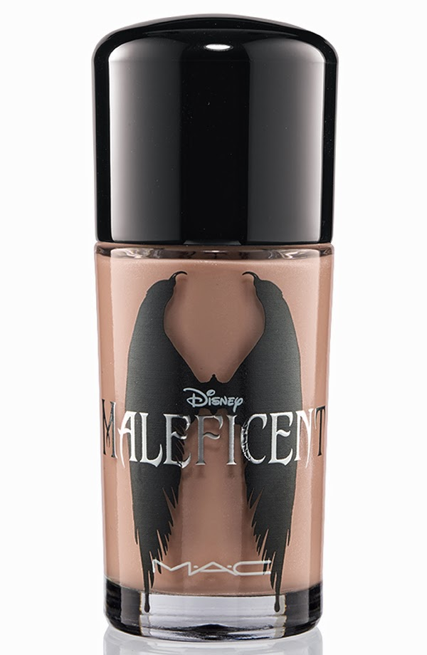 MAC Maleficent collection Nail lacquer Uninvited