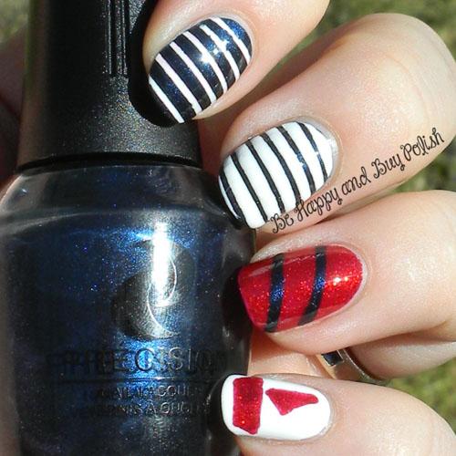 Be Happy and Buy Polish Nautical Manicure