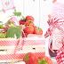 Erdbeere-Melonen Konfitüre, Erdbeere-Rosmarin Sauce & Erdbeer Sahne Cupcakes